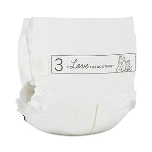 Dream Diapers 3 (9-20 lbs) 198 Count (6 Packs of 33)