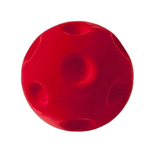 "Red Crater Ball (4"")"