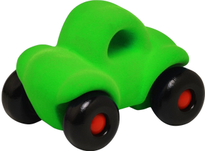 "Little Green Car on Wheels (~4.5"")"