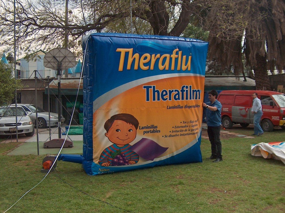 Inflable publicitario Therafu