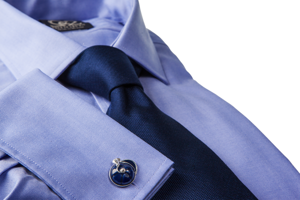 Adelaide Cufflinks - Navy Blue