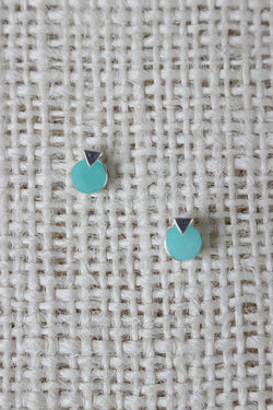 Circle Arrow Layer Stud Earring