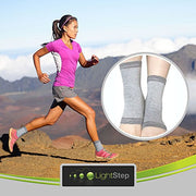 Bamboo Charcoal Ankle Compression Sleeve - One Size Fits All