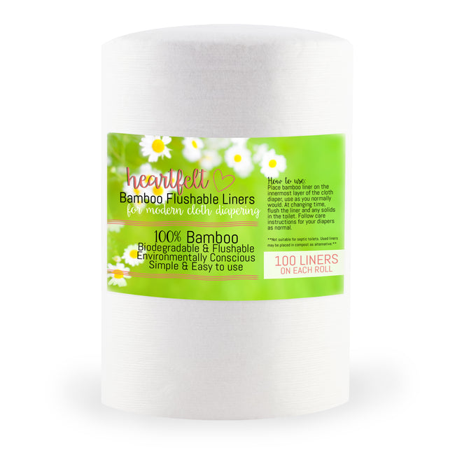 """BEST cloth diaper liner I have used!"" - Mary S."