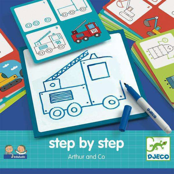 Boutique Citrouille,DJECO - EDULUDO STEP BY STEP ARTHUR AND CO,DJECO,jouets,toys