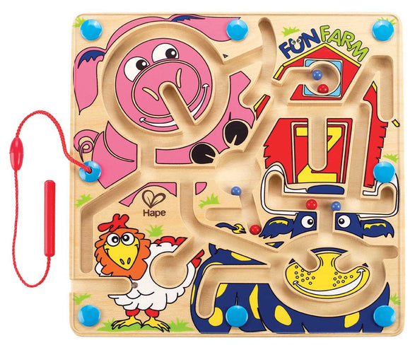 HAPE : FERME MAGNETIQUE AMUSANTE