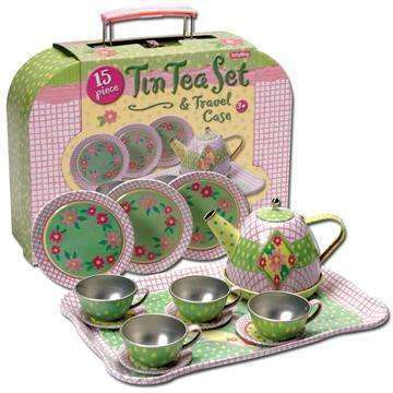 Boutique Citrouille,TIN TEA SET,SCHYLLING,jouets,toys