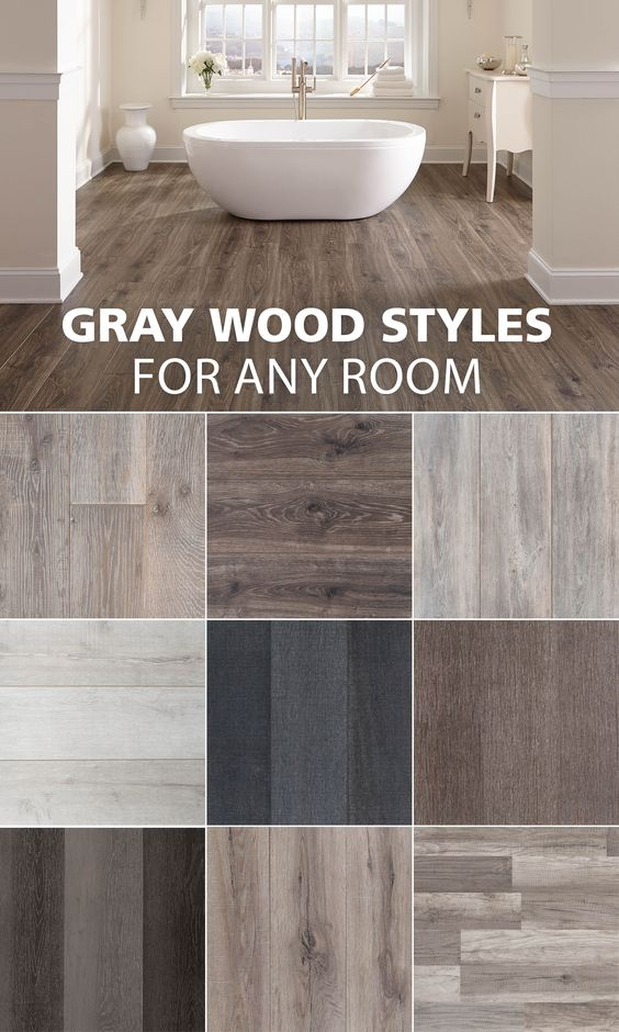 grey hardwood flooring for every room
