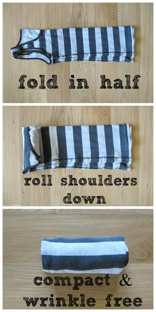 how to fold your clothes for storage