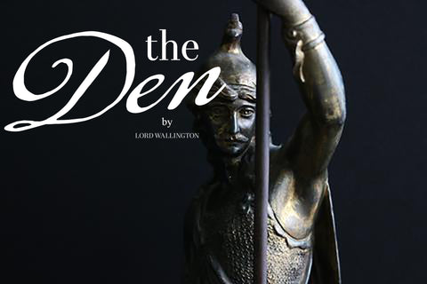 the Den by Lord Wallington home goods, antique, and vintage decor