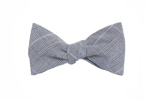 Glen Plaid Bow Tie