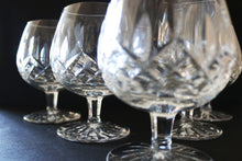 Waterford Lismore Crystal Brandy Glasses