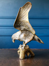 Large Vintage Brass Eagle