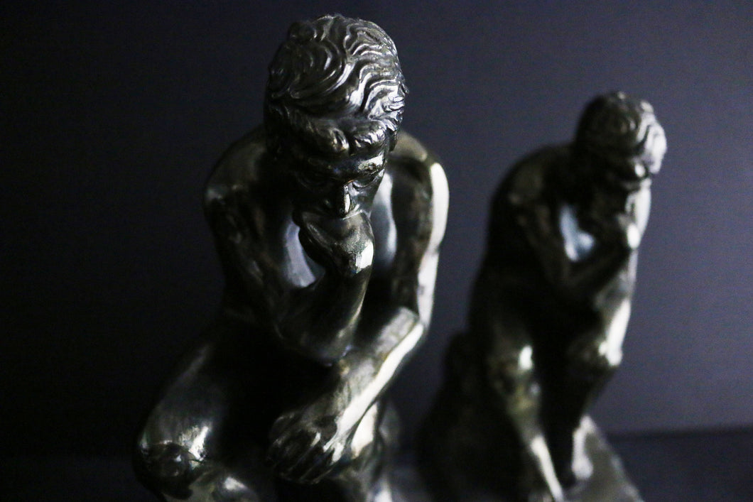 Onyx Thinker Bookends