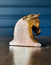 Vintage Gladys Brown for Dodge Inc Horse Head Bookends