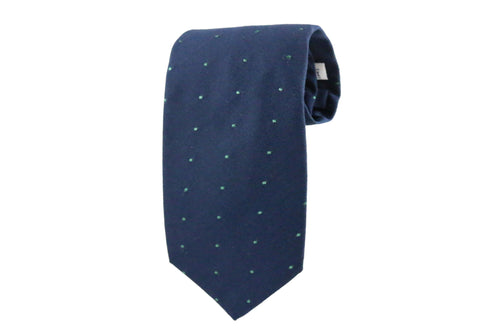 Blue & Green Dot Tie