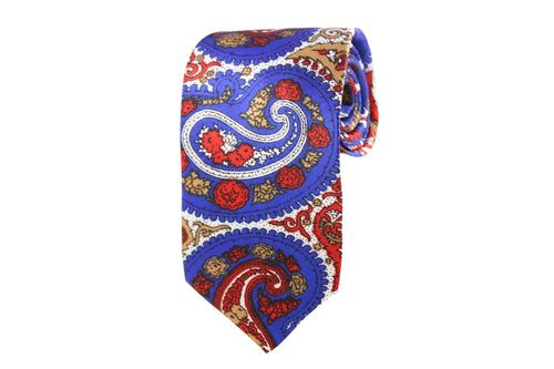 Multi-Colored Paisley Tie