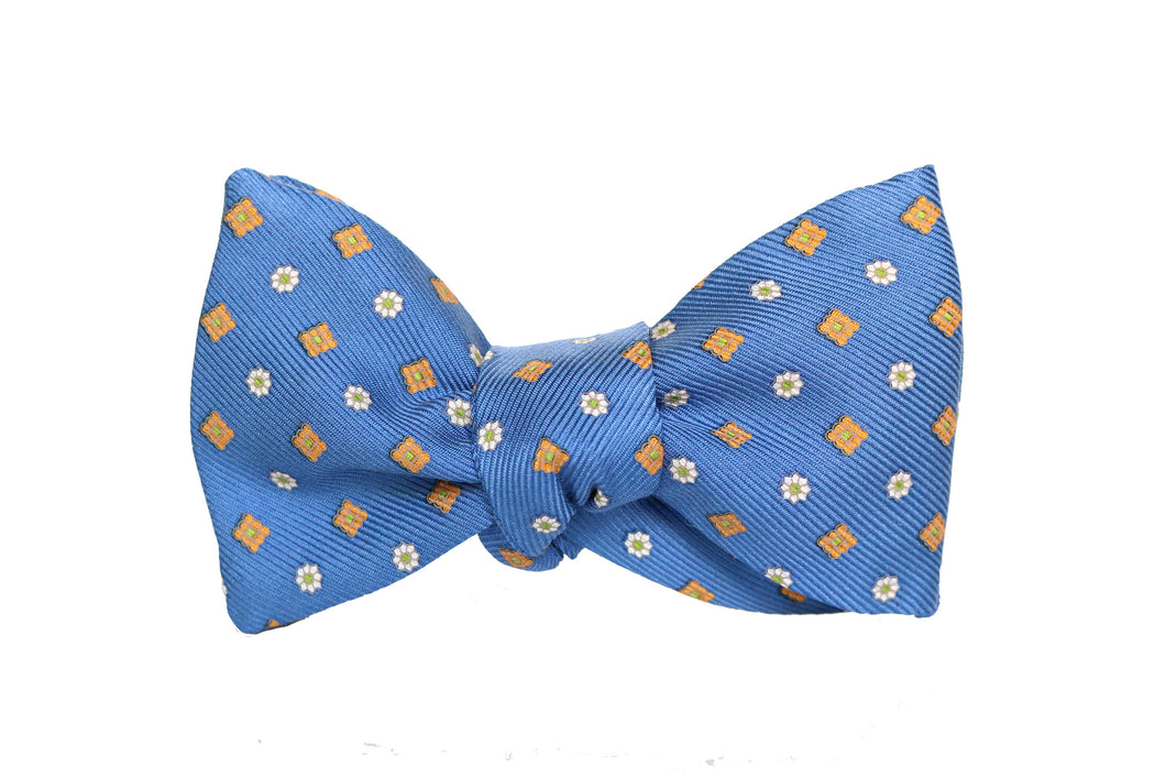 Royal Blue Silk Bow Tie