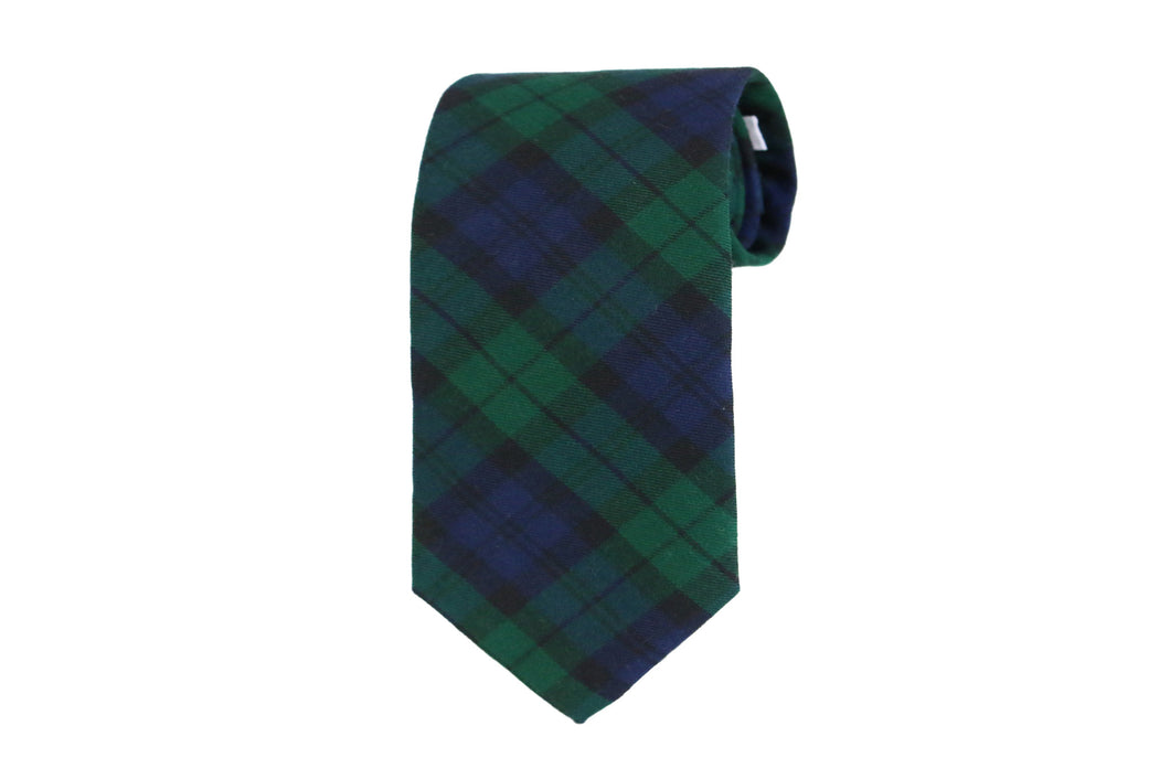 Tartan Black Watch Tie