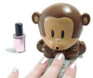 Monkey Nail Polish Blow Dryer