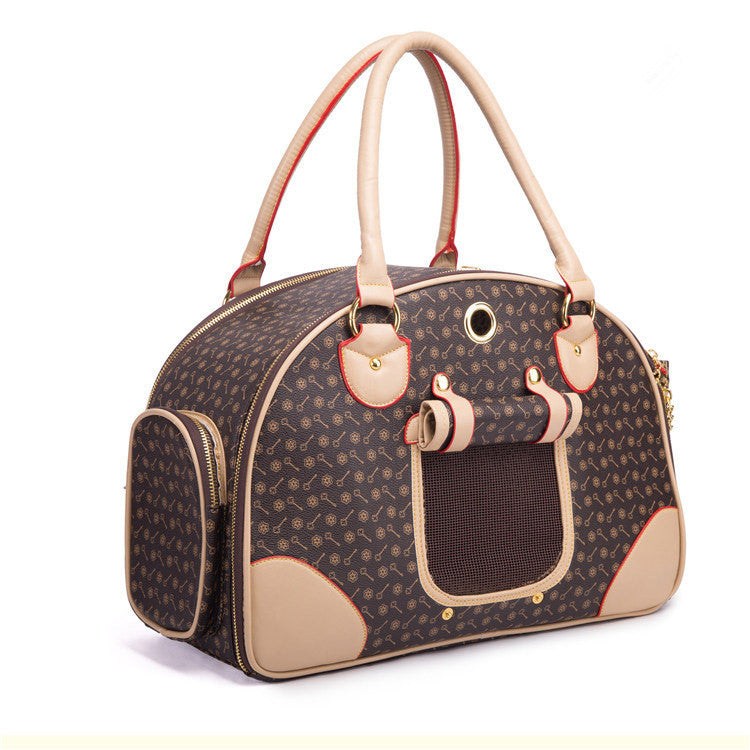Luxury Leather Cat Carrier Bag - MajorRetailTherapy.com