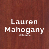 Lauren Mahogany Melamine for Murphy Beds