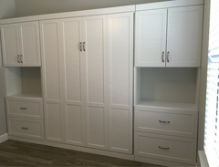 Modified I Side Cabinets with 2 File Drawers