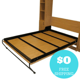"""Panel Bed"" DIY Murphy Bed Frame Kit"