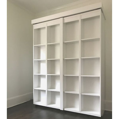 IN STOCK Queen Size Boaz BiFold Bookcase Murphy Bed