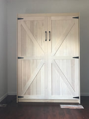 The Barn Door Panel Bed
