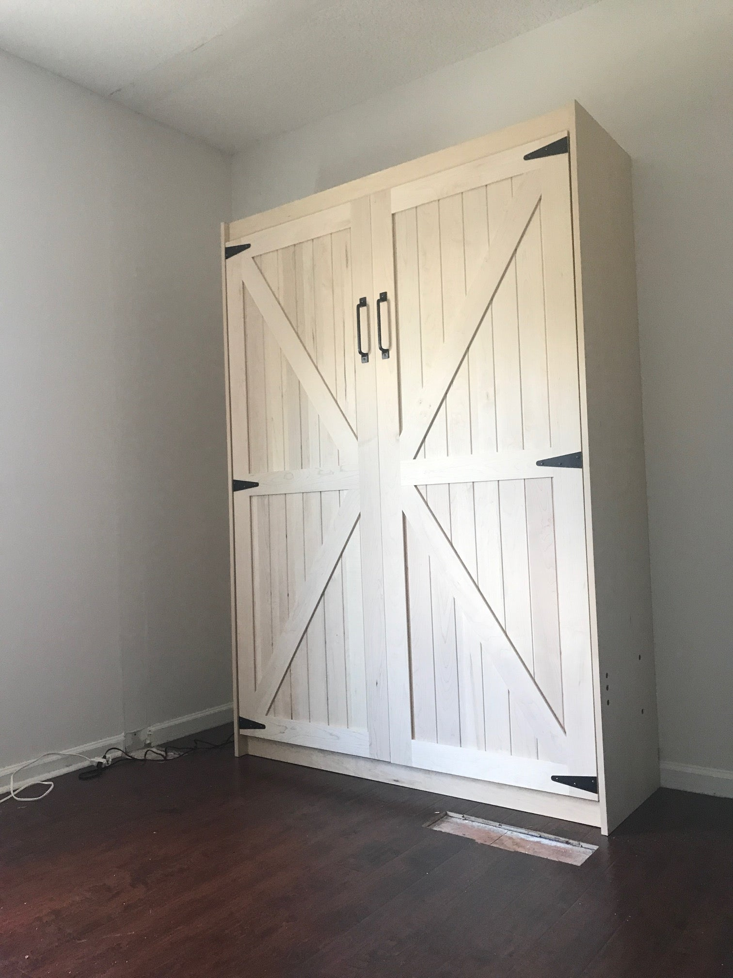 Barn Door Panel Bed