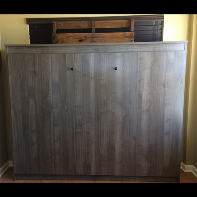 HORIZONTAL St Augustine Panel Bed