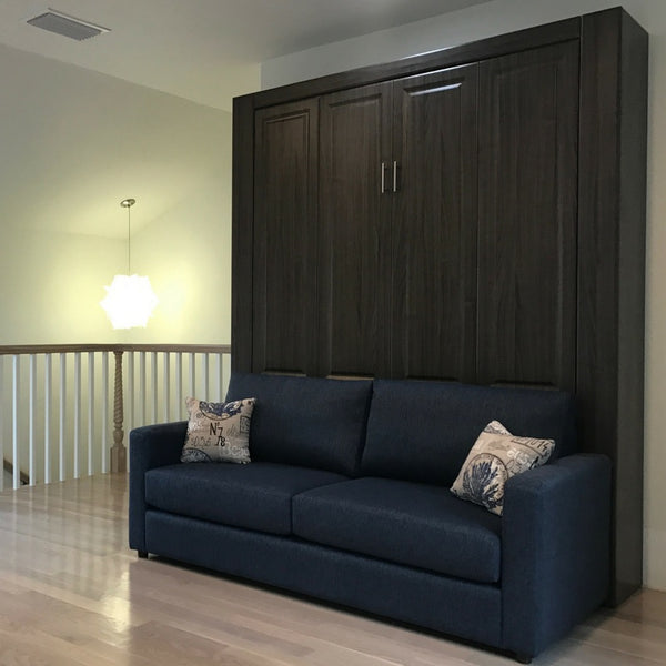 Sofa And Panel Bed Ensemble Murphybeddepot