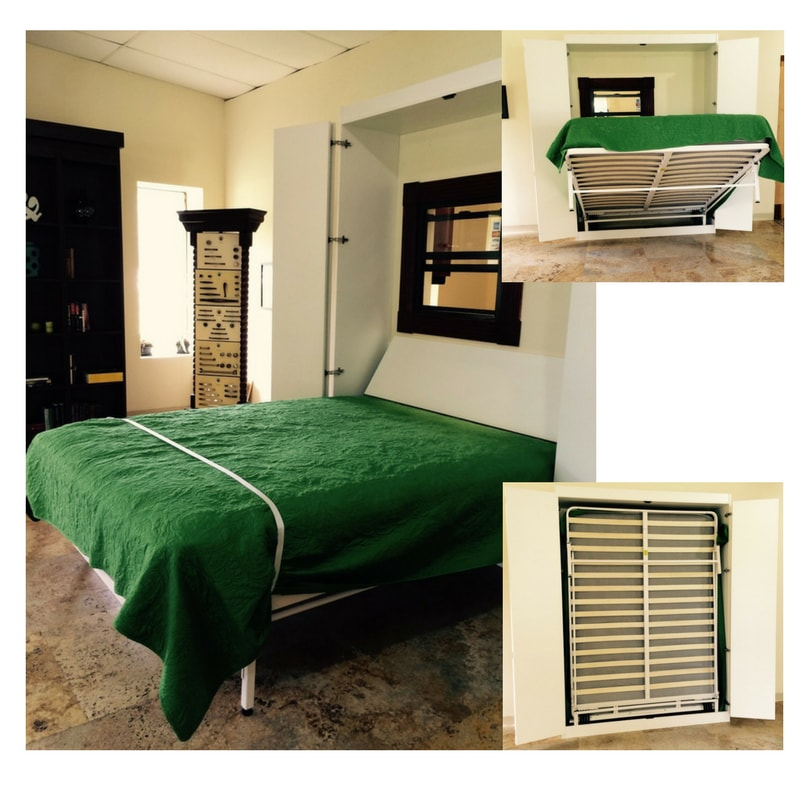 The Next Bed Wall Mounted Murphy Bed Frame