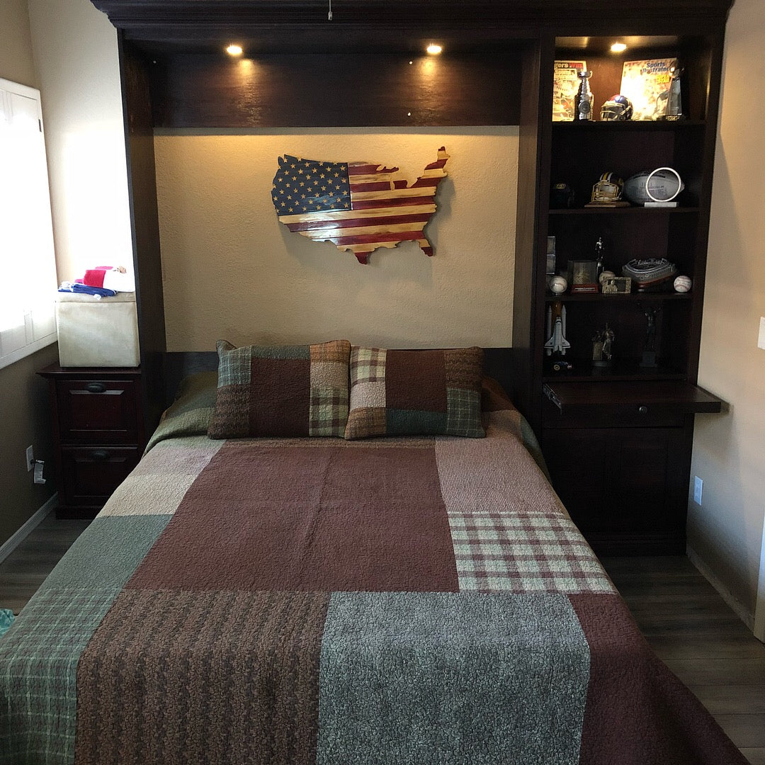 Murphy Bed Depot DIY Panel Bed Steel Frame Wall Bed