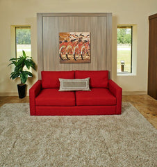 Sofa and Panel Bed Ensemble