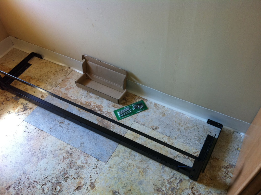 Pair Of Wall Mount Brackets For Door Bed Frame