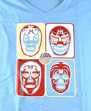 WOMAN MIL MASKS Lucha Libre T shirt Short Sleeve Round Neck - Lucha Libre Mexican Luchador Wrestling Masks mrmaskman.com