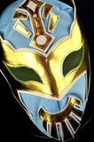 CARA LIGHT BLUE Adult Mexican Wrestling Lucha Libre Luchador Mask Halloween - Lucha Libre Mexican Luchador Wrestling Masks mrmaskman.com