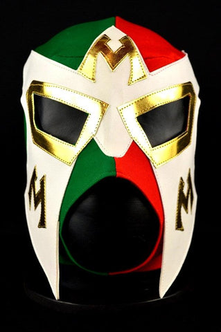 Mexico Team Tricolor Adult Mexican Wrestling Lucha Libre Luchador Mask Halloween - Lucha Libre Mexican Luchador Wrestling Masks mrmaskman.com