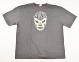 WAGNER GRAY  Lucha Libre T shirt Short Sleeve Round Neck