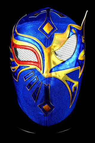 MISTICO 08 Lycra Mexican Wrestling Lucha Libre Mask Luchador Halloween Costume - Lucha Libre Mexican Luchador Wrestling Masks mrmaskman.com