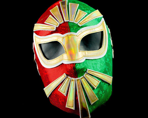 Mistico 4 Lycra Mexican Wrestling Lucha Libre Mask Luchador Halloween Costume