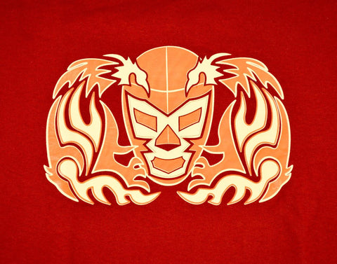 WAGNER Lucha Libre T shirt Short Sleeve Round Neck