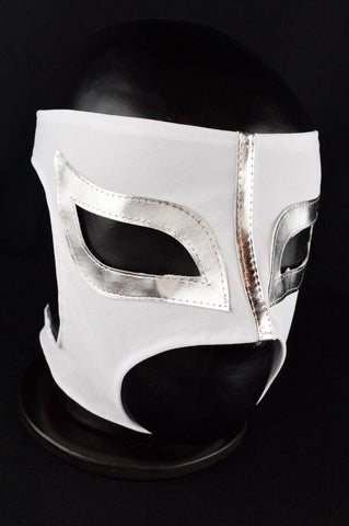 SEXY LADY MASK WHITE MEXICAN WRESTLING LUCHA LIBRE MASK LUCHADOR HALLOWEEN COSTUME - Lucha Libre Mexican Luchador Wrestling Masks mrmaskman.com
