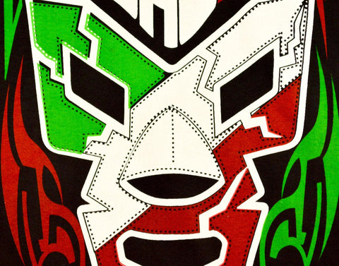 WAGNER Lucha Libre T shirt Short Sleeve Round Neck - Lucha Libre Mexican Luchador Wrestling Masks mrmaskman.com