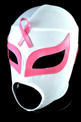 Lucha Against Breast Cancer Adult Mexican Wrestling Lucha Libre Luchador Mask Halloween - Lucha Libre Mexican Luchador Wrestling Masks mrmaskman.com