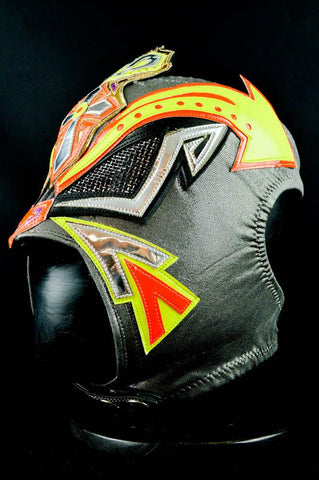 Crazy Boy Pro Grade Wrestler Level Wrestling Luchador Mask Halloween