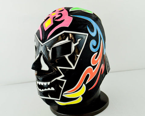 Mephesto 1 Adult Lycra Spandex Mexican Wrestling Lucha Libre Mask Luchador Halloween Costume - Lucha Libre Mexican Luchador Wrestling Masks mrmaskman.com
