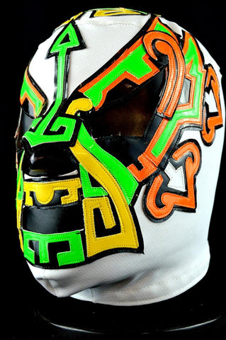 Principe Maya Jr. 3 Lycra Mexican Wrestling Lucha Libre Mask Luchador Halloween Costume - Lucha Libre Mexican Luchador Wrestling Masks mrmaskman.com